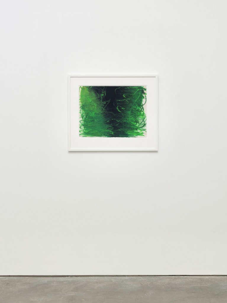 Anish Kapoor Guache drawing in Spray white beech frame framed to museum standards