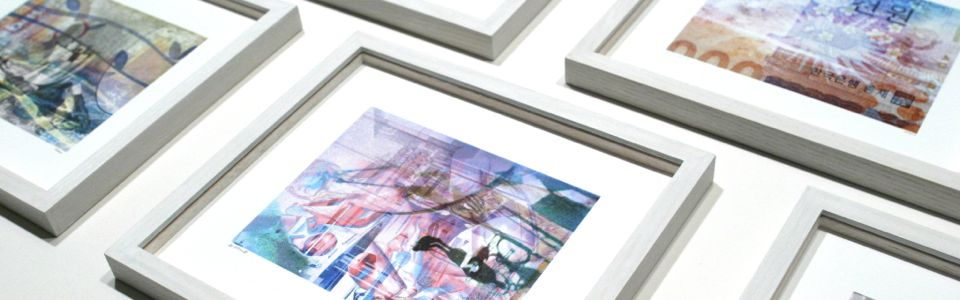 Digital prints by art Will Maw framed to conservation standards