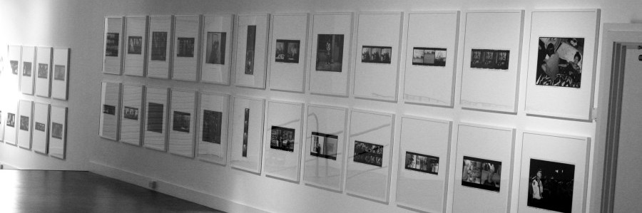 Ai Weiwei Photographs at Blenheim Palace framed by SE1 Picture Frames
