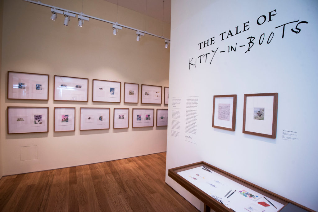 The Tale of Kitty in Boots. Illustrated by Quentin Blake. Photo: © Paul Grover